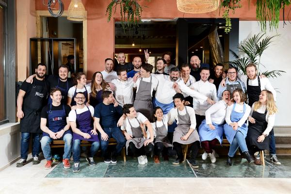L'équipe des chefs de Food Traboule © Nicolas Villion