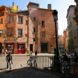 Place de la Trinité - Vieux-Lyon © Marie Perrin